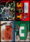 Basketball Cards:Lots, 2001-08 Boston Celtics Signed Cards Collection (4)....