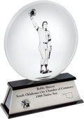 Baseball Collectibles:Others, 1998 Bobby Murcer South Oklahoma City Chamber of Commerce NativeSon Award from The Bobby Murcer Collection. ...