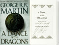 Books:Science Fiction & Fantasy, George R. R. Martin. SIGNED. A Dance with Dragons. New York: Bantam Books, [2011]. ...