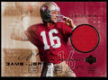 Football Cards:Singles (1970-Now), 2000 Upper Deck Joe Montana Autograph Jersey Card #GJG-JM....