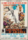 "Movie Posters:Academy Award Winners, Lawrence of Arabia (Columbia, 1963). Italian 2 - Foglio (39.5"" X55"") Style B. Academy Award Winners.. ..."