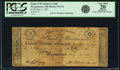 Obsoletes By State:Maryland, Westminster, MD - Bank of Westminster (2nd) $1 May 1, 1861 MD-316 G2, Shank 150.5.1. PCGS Very Fine 20 Apparent.. ...