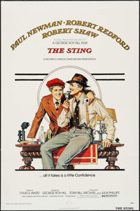 """The Sting (Universal, 1973). One Sheet (27"""" X 41""""). Crime"""