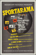 "Movie Posters:Sports, Sportarama (Paramount, 1963). One Sheet (27"" X 41""). Sports.. ..."