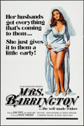 "Movie Posters:Adult, Mrs. Barrington & Others Lot (Monarch, 1974). One Sheets (44) (27"" X 41"") Flat-Folded. Adult.. ... (Total: 44 Items)"
