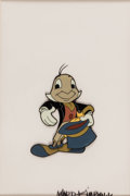 Animation Art:Production Cel, The Mickey Mouse Club Jiminy Cricket Production Cel (WaltDisney, 1955)....