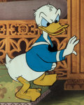 Animation Art:Production Cel, Donald Duck Production Cel (Walt Disney, 1960s)....