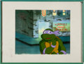 Animation Art:Production Cel, Teenage Mutant Ninja Turtles Donatello Production Cel(Murakami-Wolf-Swenson, 1987-1996)....
