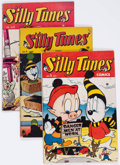 Golden Age (1938-1955):Funny Animal, Silly Tunes #2, 4, and 5 Group (Timely, 1946).... (Total: 3 ComicBooks)