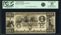 Obsoletes By State:Massachusetts, Salem, MA - Naumkeag Bank $1 18__ MA-1125 G8 SENC. Proof. PCGSExtremely Fine 45 Apparent.. ...