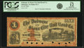 Obsoletes By State:Iowa, Dubuque, IA - Dubuque & Sioux City Rail Road Co. $1 1866 Oakes 52-1. PCGS Fine 12 Apparent.. ...