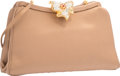 "Luxury Accessories:Bags, Judith Leiber Brown Satin Evening Bag. Very Good to Excellent Condition. 9.5"" Width x 6"" Height x 2"" Depth. ..."