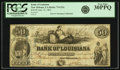 Obsoletes By State:Louisiana, New Orleans, LA - Bank of Louisiana $50 Forced Issue June 14, 1862 LA-75 G22c. PCGS Very Fine 30PPQ.. ...