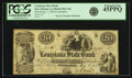 Obsoletes By State:Louisiana, New Orleans, LA - Louisiana State Bank $20 Jan. 1, 1850 Contemporary Counterfeit LA-80 C34a. PCGS Extremely Fine 45PPQ.. ...