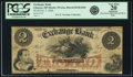 Obsoletes By State:Minnesota, Glencoe, MN - Exchange Bank $2 October 5, 1858 MN-35 G4a, HewittB140-D2b. PCGS Very Fine 20 Apparent.. ...