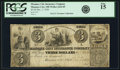 Obsoletes By State:Ohio, Maumee City, OH - Maumee City Insurance Company $3 December 1, 1838Wolka 1624-05. PCGS Fine 15.. ...