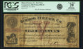 "Obsoletes By State:Ohio, Youngstown, OH - Himrod Furnace Co. $5 8% 4 Months Post NoteFebruary 14, 1873/""4"" Wolka 2904-01. PCGS Very Fine 20 Apparent...."