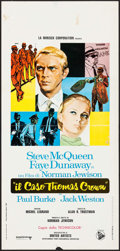 "Movie Posters:Crime, The Thomas Crown Affair (Dear Film, 1968). Italian Locandina (13"" X27.5""). Crime.. ..."
