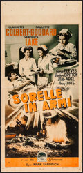 "Movie Posters:War, So Proudly We Hail (Paramount, R-1950). Italian Locandina (13"" X27.25""). War.. ..."