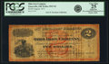 Obsoletes By State:Ohio, Zanesville, OH - Ohio Iron Company $2 August, 1871 Wolka 2947-02.PCGS Very Fine 25 Apparent.. ...