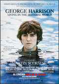 "Movie Posters:Documentary, George Harrison: Living in the Material World (Good Films, 2011). Italian 2 - Foglio (38.25"" X 55"") Advance. Documentary.. ..."