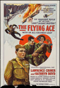 """Movie Posters:Black Films, The Flying Ace (Norman, 1926). Trimmed One Sheet (27"""" X 39""""). BlackFilms.. ..."""
