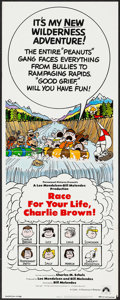 """Movie Posters:Animation, Race for Your Life, Charlie Brown (Paramount, 1977). Insert (14"""" X 36""""). Animation.. ..."""