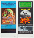 "Movie Posters:Documentary, A Matter of Style & Other Lot (Associated Screen Arts, 1976). Australian Daybills (2) (13.5"" X 30""). Documentary.. ... (Total: 2 Items)"