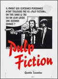 "Movie Posters:Crime, Pulp Fiction (Bac Films, 1994). French Grande (45.5"" X 62.5"")Second Chance Style. Crime.. ..."