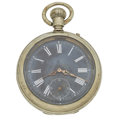 Timepieces:Pocket (pre 1900) , Longines Pin Lever Pocket Watch. ...