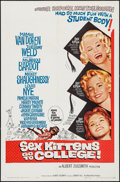 """Movie Posters:Comedy, Sex Kittens Go to College (Allied Artists, 1960). One Sheet (27"""" X41""""). Comedy.. ..."""