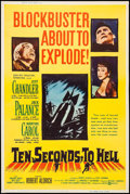"Movie Posters:War, Ten Seconds to Hell & Other Lot (United Artists, 1959). Posters(2) (40"" X 60""). War.. ... (Total: 2 Items)"