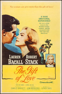 """The Gift of Love & Other Lot (20th Century Fox, 1958). Posters (2) (40"""" X 60"""")Style Y. Drama. ... (Tot..."""
