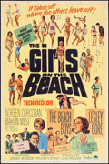 "Movie Posters:Rock and Roll, The Girls on the Beach (Paramount, 1965). Poster (40"" X 60""). Rockand Roll.. ..."