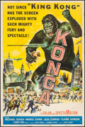 """Movie Posters:Science Fiction, Konga (American International, 1961). Poster (40"""" X 60""""). ScienceFiction.. ..."""