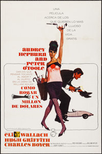 "How to Steal a Million (20th Century Fox, 1966). Spanish Language One Sheet (27"" X 41""). Crime"
