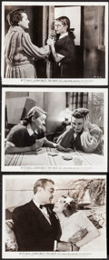 "Movie Posters:Drama, The Great Lie (Warner Brothers, 1941). Photos (2) (8"" X 10.25"") & Trimmed Photo (8"" X 10""). Drama.. ... (Total: 3 Items)"