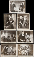 """Movie Posters:Hitchcock, Dial M for Murder (Warner Brothers, 1954). Photos (7) (8"""" X 10"""").Hitchcock.. ... (Total: 7 Items)"""
