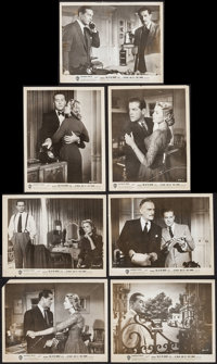 """Dial M for Murder (Warner Brothers, 1954). Photos (7) (8"""" X 10""""). Hitchcock. ... (Total: 7 Items)"""