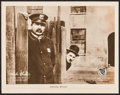 """Movie Posters:Comedy, A Dog's Life (First National, 1918). Lobby Card (11"""" X 14"""").Comedy.. ..."""