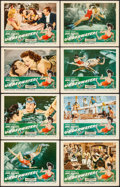 "Movie Posters:Drama, Underwater! (RKO, 1955). Lobby Card Set of 8 (11"" X 14""). Drama.. ... (Total: 8 Items)"