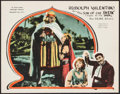 "Movie Posters:Adventure, The Son of the Sheik (United Artists, 1926). Lobby Card (11"" X14""). Adventure.. ..."