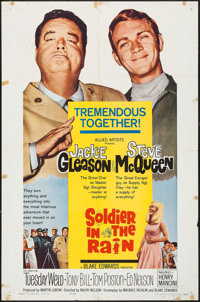 """Soldier in the Rain (Allied Artists, 1964). One Sheet (27"""" X 41""""). Comedy"""