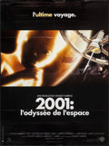 "Movie Posters:Science Fiction, 2001: A Space Odyssey (Warner Brothers, R-2000). French Grande(45.5"" X 62""). Science Fiction.. ..."