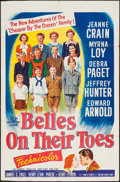 "Movie Posters:Romance, Belles on Their Toes (20th Century Fox, 1952). One Sheet (27"" X 41""). Romance.. ..."