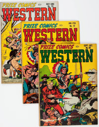 Prize Comics Western Group of 7 (Prize, 1951-53) Condition: Average VG/FN.... (Total: 7 Comic Books)