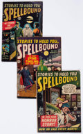 Golden Age (1938-1955):Horror, Spellbound Group of 7 (Atlas, 1952-54) Condition: Average GD....(Total: 7 Comic Books)