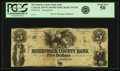 Obsoletes By State:New Hampshire, Concord, NH - Merrimack County Bank (2nd) $5 18__ NH-35 G46. Remainder. PCGS About New 50.. ...