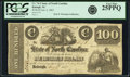 Obsoletes By State:North Carolina, Raleigh, NC - State of North Carolina $100 January 6, 1862 Cr. 74-2. PCGS Very Fine 25PPQ.. ...