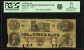 Obsoletes By State:New Hampshire, Dover, NH - Strafford Bank $2 January 1, 1858 NH-75 G24b SENC. PCGS Fine 12 Apparent.. ...
